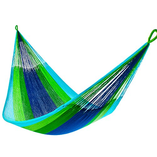 Tropical Blue and Green Hammock (2+ Person)