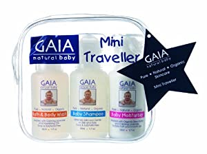 Gaia Skin Naturals - Gaia Natural Baby Mini Traveler Kit - CLEARANCE PRICED