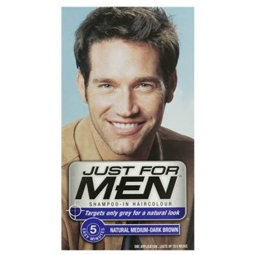 Just For Men H40 Medium Dark Brown Hair Color 60 ml