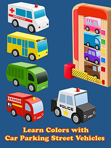 Learn Colors with Car Parking Street Vehicles