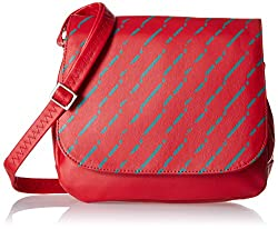 Baggit Women's Handbag (Red) (2063024)