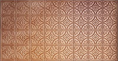 Global Specialty Products Pattern No.209 Tin Style Panel, 2 by 4-Feet, Copper from Global Specialty Products
