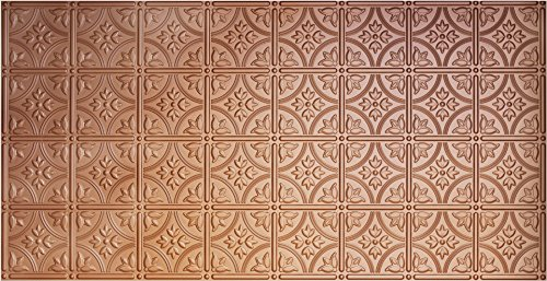 Global Specialty Products Pattern No.209 Tin Style Panel, 2 by 4-Feet, Copper (Copper Panels compare prices)