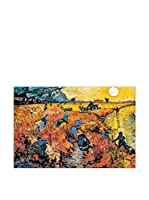 ArtopWeb Panel Decorativo Van Gogh Die Roten Weinberge Von Arles 90x60 cm Multicolor
