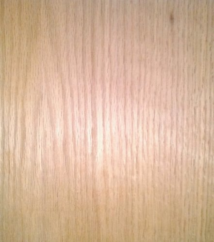 Red Oak Wood Veneer Sheet 48x96 4x8 Flat Cut Plain Slice 10 Mil Paper Back