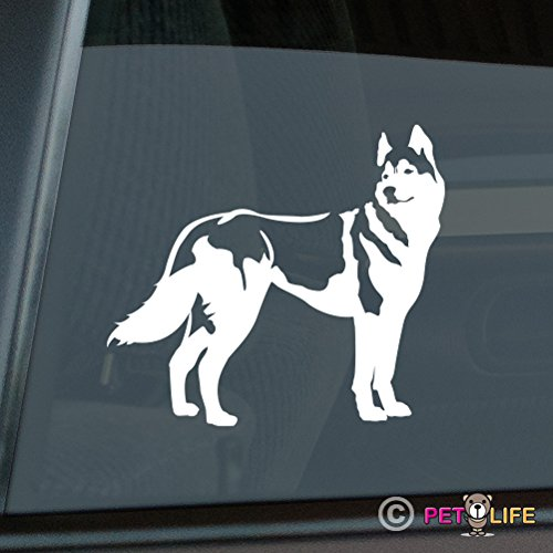Husky Sticker Vinyl Auto Window siberian (Husky Decal compare prices)