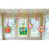 Yo Gabba Gabba Hanging Swirl Value Pack (Multi-colored) Party Accessory