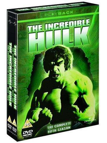 The Incredible Hulk: The Complete Fifth Season [dvd] Picture