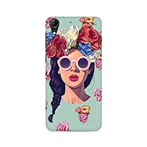 TAZindia Printed Mobile Hard Back Case Cover For HTC Desire 728
