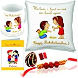 Printelligent Rakhi Gift For Sister And Brother   Rakhi Gift For Brother   Gift For Sister   Rakhi Gift   Rakshabandhan Gift Ideas Online   Send Rakhi Gifts To India   Personalized Gifts Online   Customized Present   Happy Birthday Gift For Brother   Birt