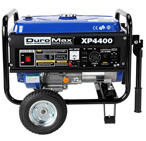 Duromax Xp4400 4,400 Watt 6.5 Hp Ohv 4-Cycle Gas Powered Gasoline Portable Generator - Generators For Home Use & Camping