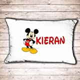 Personalised mickey Mouse pillow case great birthday or christmas gift