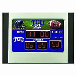 Buy Team Sports America Collegiate Scoreboard Desk Clock by Team Sports America