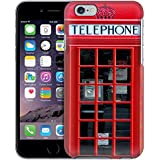 Apple iPhone 6 Case, Snap On Cover by Trek Red British Phone Booth Case