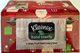 Kleenex Hand Towels Christmas Santa Themed (One Box 55 X 1 Ply Towels)