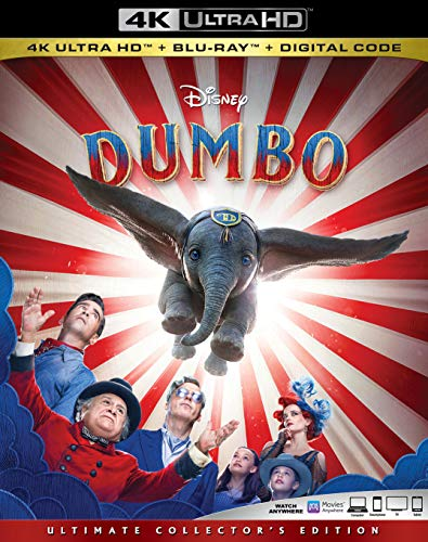 4K Blu-ray : Dumbo (live Action) (2 Discos)
