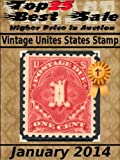 Top25 Best Sale - Higher Price in Auction - Vintage Unites States Stamp - January 2014
