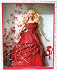 MATTEL BARBIE COLLECTOR HOLIDAY BARBIE DOLL 2012 (Soft Blonde Hair)