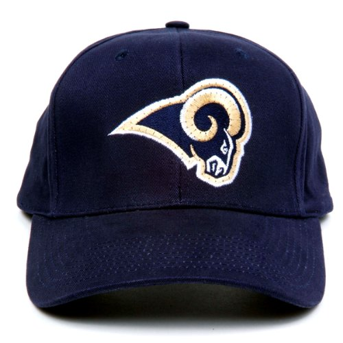Nfl St. Louis Rams Led Light-Up Logo Adjustable Hat