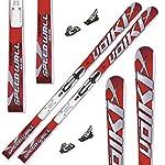 Völkl Ski Racetiger GS R JR Rennski + Marker M 11.0 TC EPS + Platte 2013 (135)