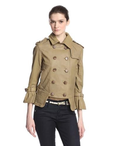 Alpha Industries Women's Collette Leather Jacket