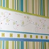 Para siempre amigos Estrellita - etiqueta de la pared decorativo de la frontera para el dormitorio