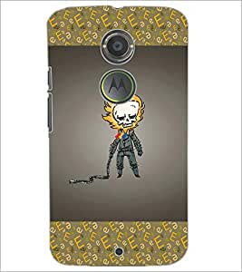 PrintDhaba Funny Image D-4627 Back Case Cover for MOTOROLA MOTO X2 (Multi-Coloured)