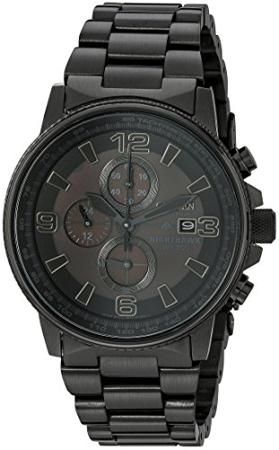 Citizen Men's CA0295-58E Eco-Drive Nighthawk Stainless Steel Watch