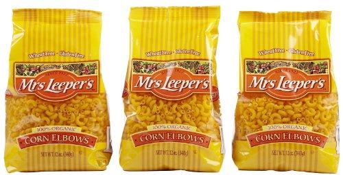 Mrs. Leeper's Corn Elbows Organic Pasta, 12 oz, 3 pk (Mrs Leepers Corn compare prices)