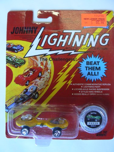 Johnny Lightning the Challengers Nucleon Yellow