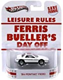 Hot Wheels Retro Ferris Bueller's Day Off 1:55 Die Cast Car '84 Pontiac Fiero