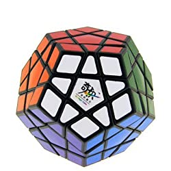 [Best price] Puzzles - QJ megaminx II Puzzle Cube Sticker Black - toys-games
