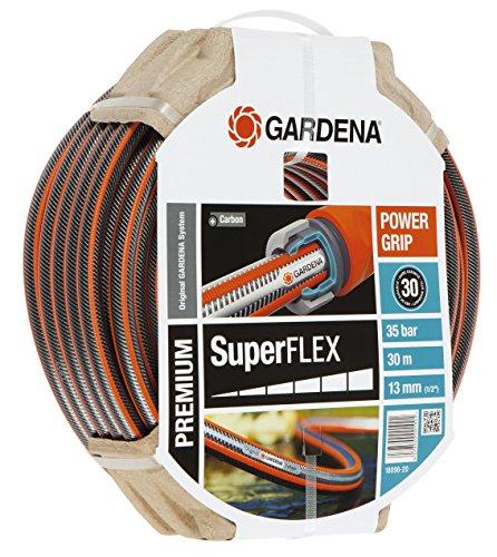 Gardena Premium Superflex Schlauch 12 x 12, 13 mm, 1/2 Zoll, 30 m ohne Systemteile, 18096-20