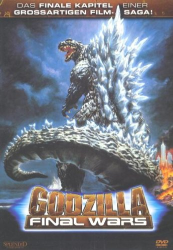 Godzilla - Final Wars, DVD