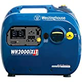 Westinghouse WH2000iXLT, 1800 Running Watts/2200 Starting Watts, Gas Powered Portable Inverter