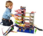 12 Designs Toy Car Park Police Fire S...