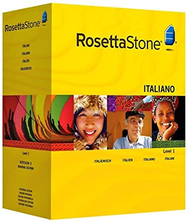 Rosetta Stone Version 3: Italian Level 1 with Audio Companion (Mac/PC CD)