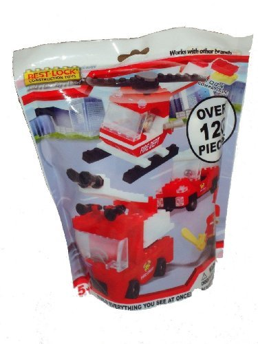 Best-lock Fire Dept Construction Toys - 1