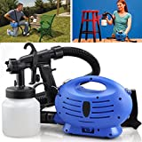 ELECTRIC PAINT SPRAYER FENCE SPRAY ZOOM GUN DIY TOOL PAINTING INDOOR OUTDOOR NEW