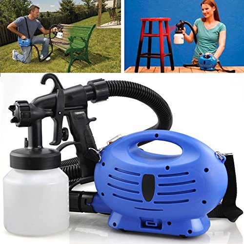 electric-paint-sprayer-fence-spray-zoom-gun-diy-tool-painting-indoor-outdoor-new