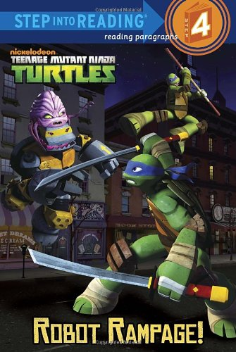 Robot Rampage! (Teenage Mutant Ninja Turtles) (Step into Reading) (Ninjas Robots compare prices)