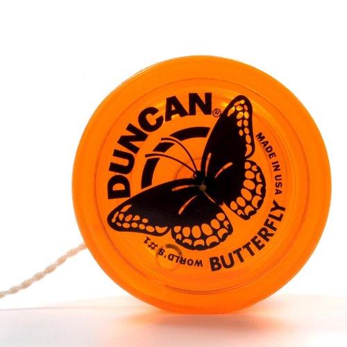 Genuine Duncan Butterfly® Yo-Yo Classic Toy - Orange - 1