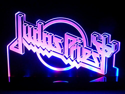 Judas Priest English Heavy Metal Band Led Desk Lamp Night Light Beer Bar Bedroom Game Room Signs front-460839