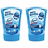 Lysol No-Touch Antibacterial Hand Soap Refill, Berry Bubbles, Pack Of 2 At 8.5 Ounces Each