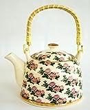 Mad over Kettles: Ceramic Flower Teapot