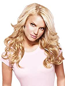 """23"""" Wavy Clip-In Hair Extensions by Jessica Simpson hairdo - R4"""