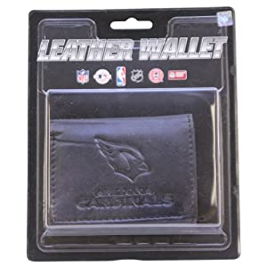 NFL Leather Wallet - Arizona Cardinals - Black