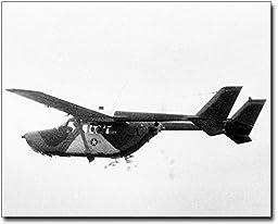 Cessna O-2 Super Skymaster in Flight 11x14 Silver Halide Photo Print