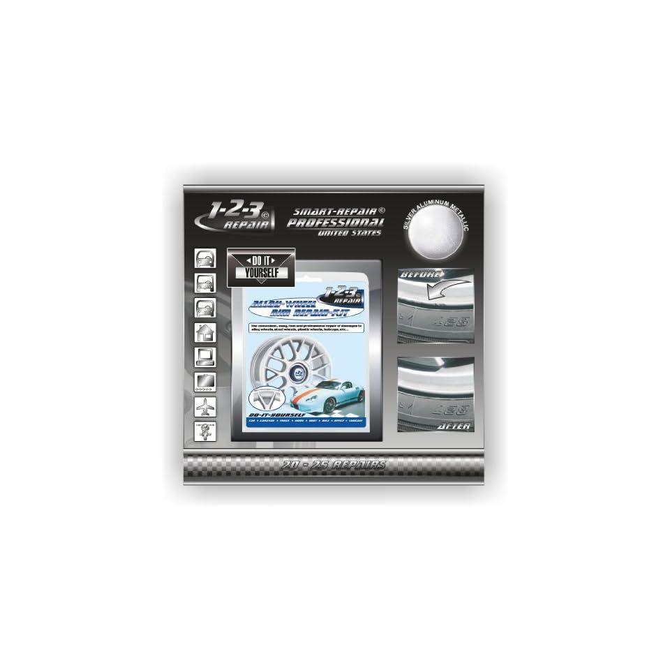 alloy wheel repair rim repair curb damage repair kit silver alu on popscreen. Black Bedroom Furniture Sets. Home Design Ideas