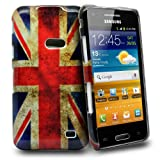 Accessory Master Plastic Case for Samsung Galaxy Beam i8530 with Vintage Union Jack Motif